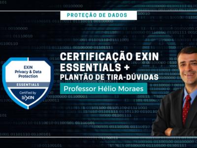 PK006 – Proteção de Dados | Certificação Exin Essentials + Plantão de tira-dúvidas